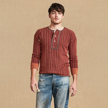 1900's Fleece Henley at Levi's in Daytona Beach, FL | Tuggl