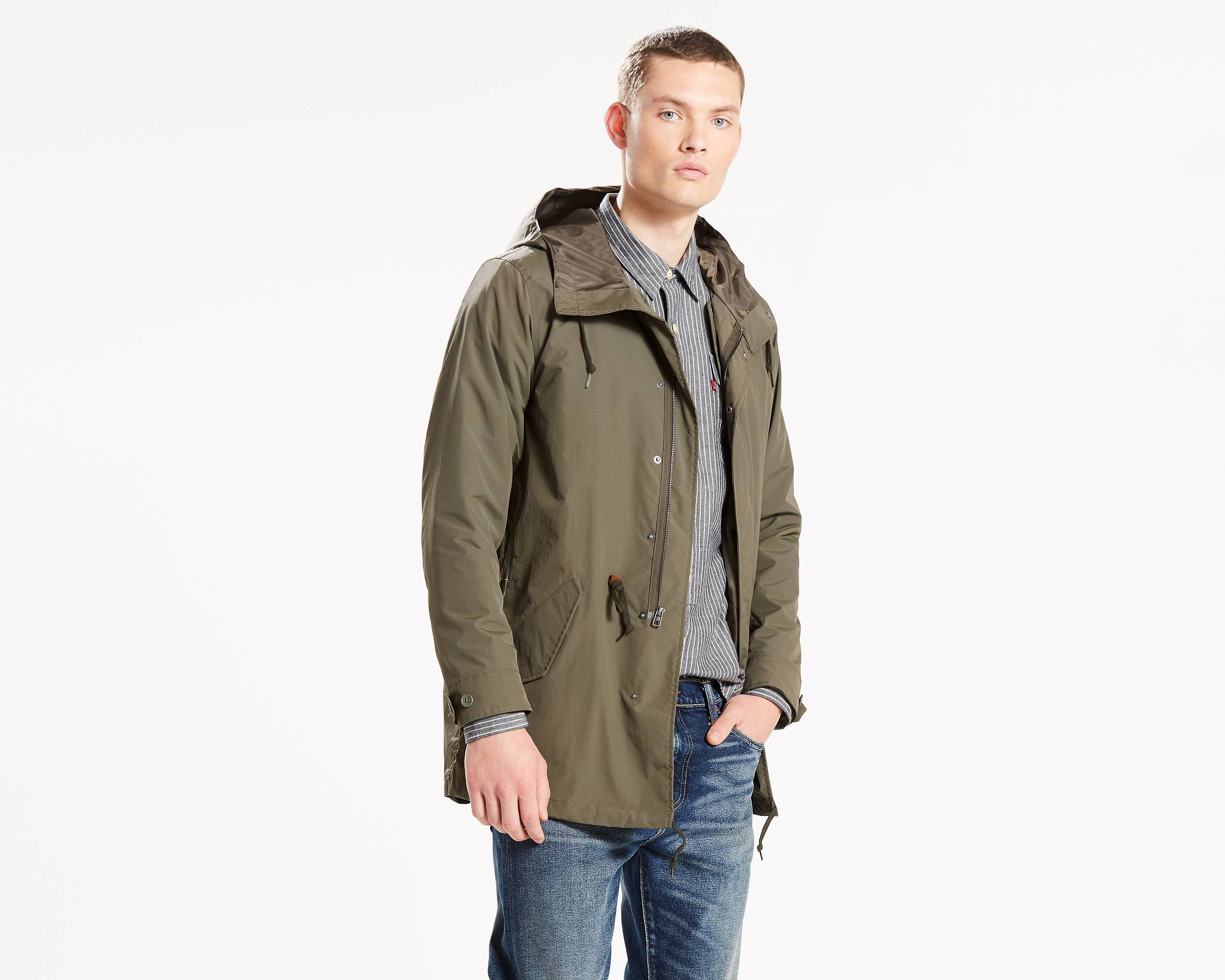 3-In-1 Fishtail Parka | Olive Night |Levi's® United States (US)