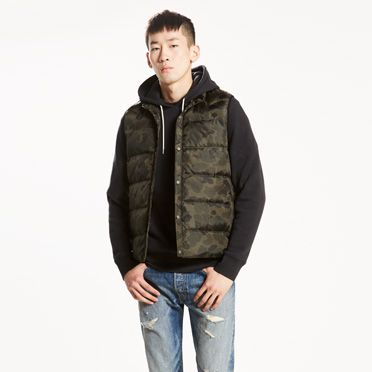 Packable Puffer Down Vest at Levi's in Daytona Beach, FL | Tuggl