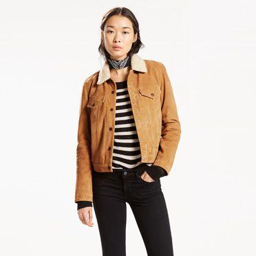 Jean Jackets Denim Jackets For Women Levi S 174