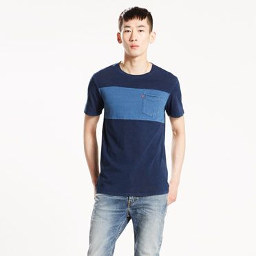 Pieced Pocket Tee at Levi's in Daytona Beach, FL | Tuggl