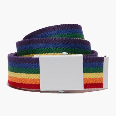 Levis-Pride Web Belt-Multi Stripe