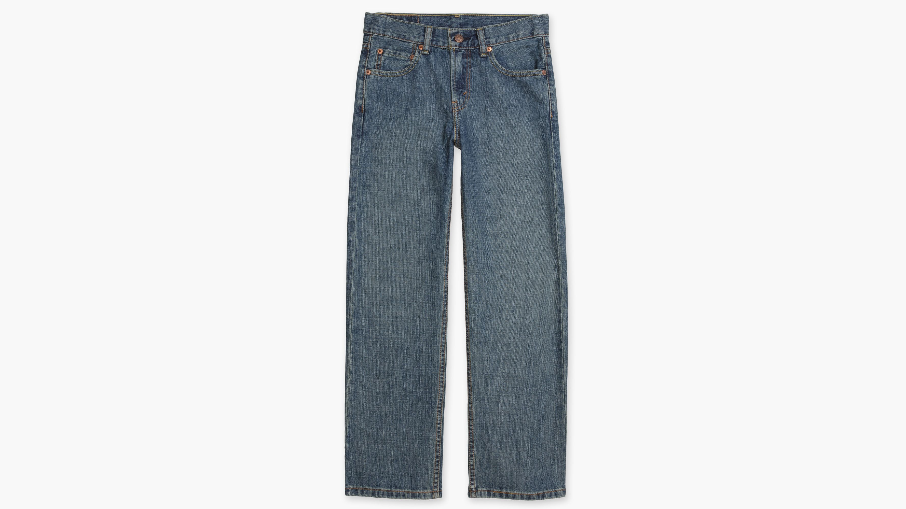 Boys (8-20) 550™ Relaxed Fit Jeans - Clean Cross Hatch