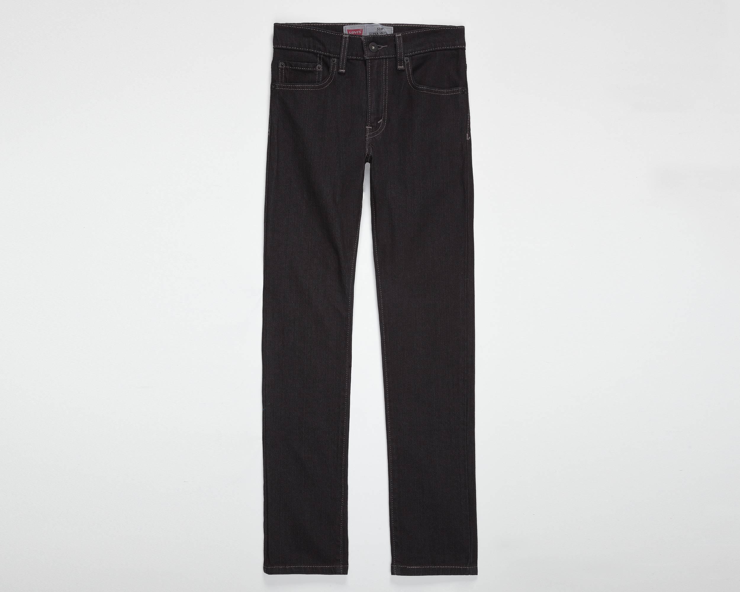 Boys (8-20) 510™ Skinny Fit Jeans | Overdyed Black Stretch ...