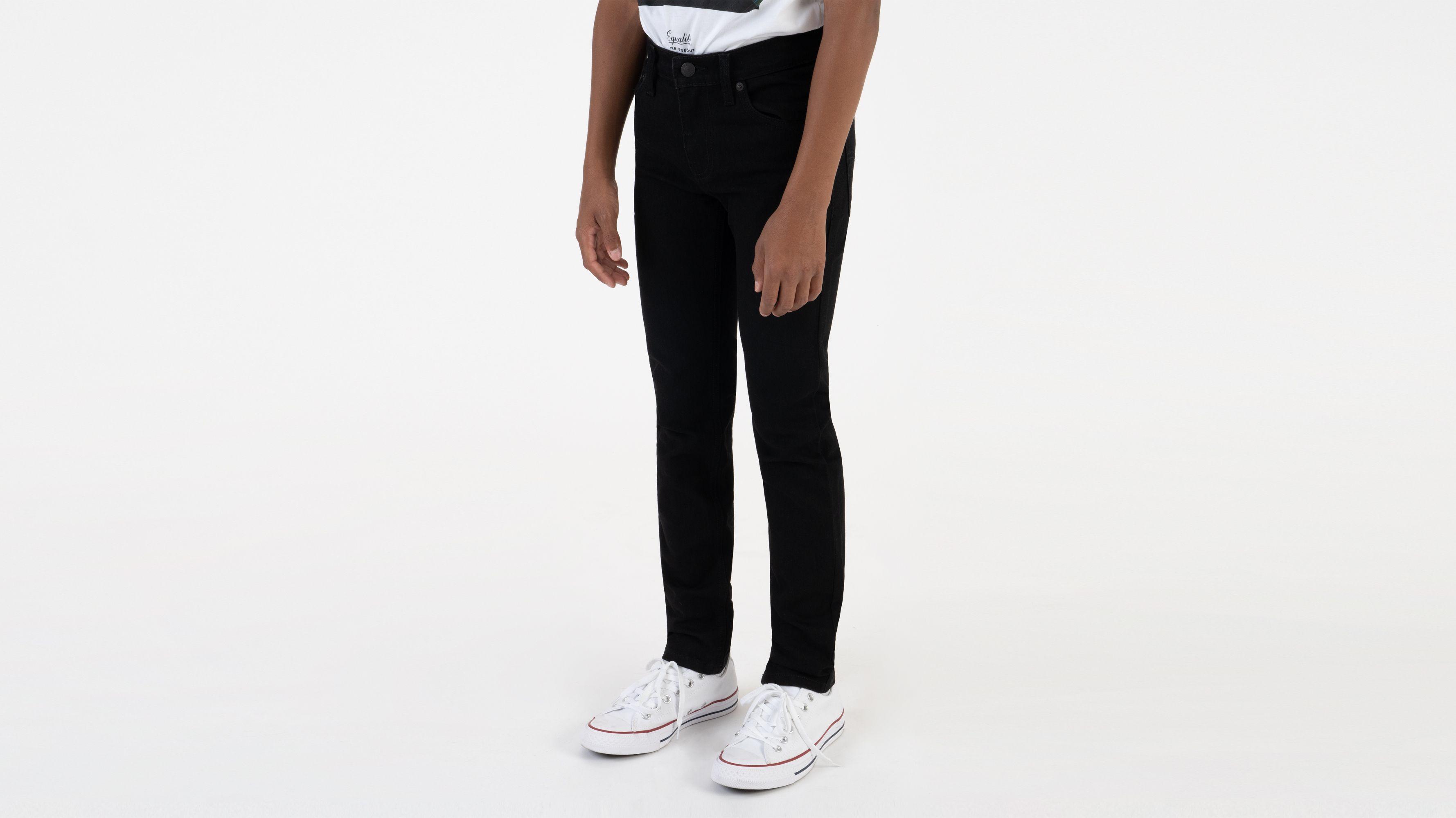 Boys (8-20) 510™ Skinny Fit Jeans - Overdyed Black Stretch