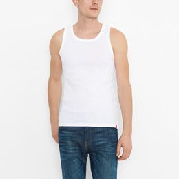 2-Pack Levis Mens Slim Fit Tank (White)