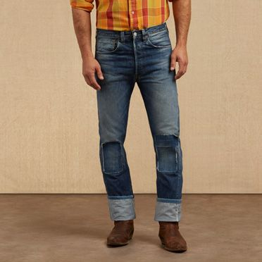 1940s Style Men's Pants and Trousers 1947 501® Jeans $253.90 AT vintagedancer.com