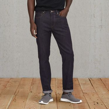 """Levis-Needle Stretch Selvedge Narrow Jeans-Indigo"""