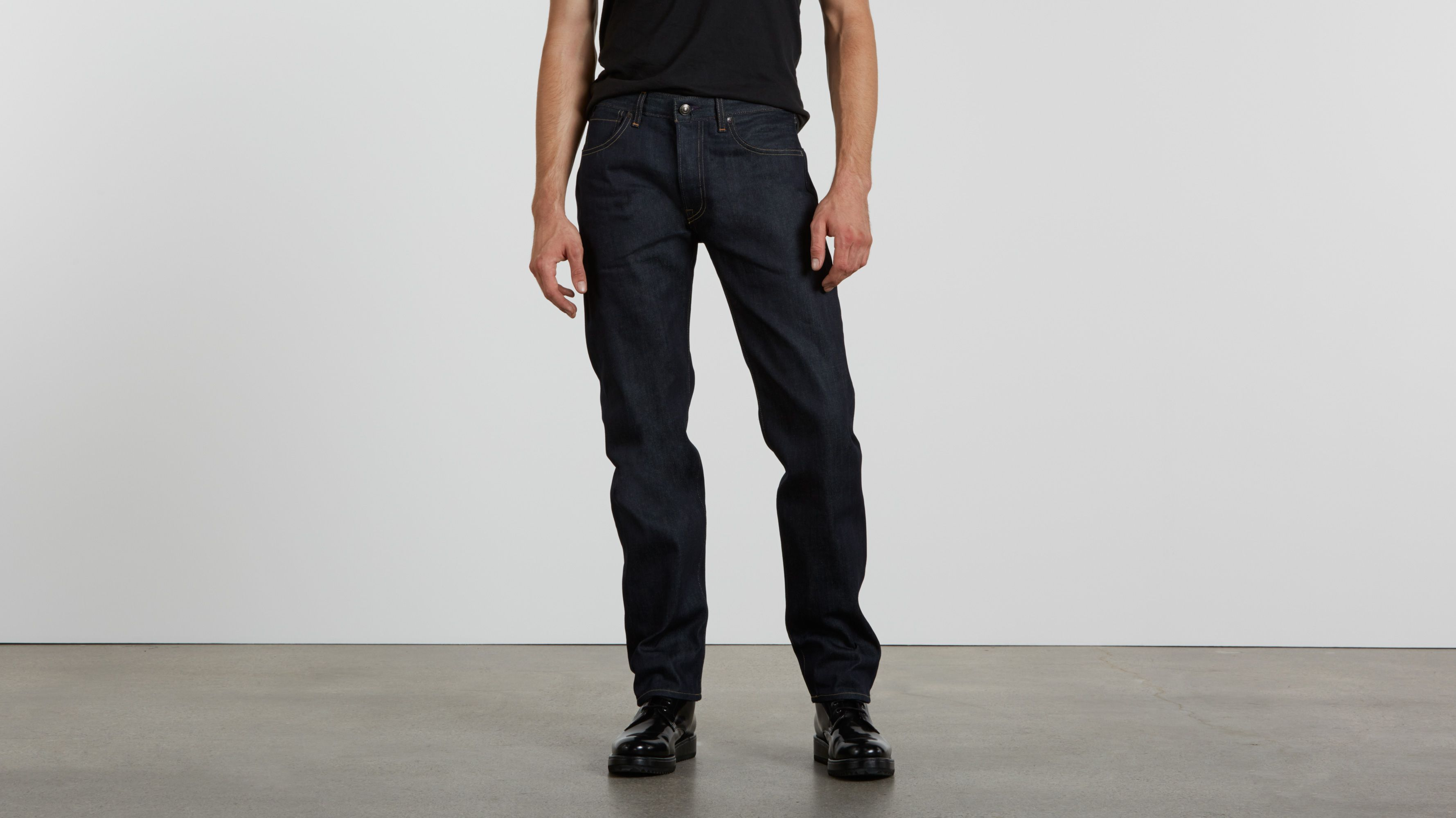 Ruler Straight Jeans - Indigo Rigid
