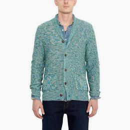 promotion Levis-Textured Shawl Cardigan-Vineyard Green
