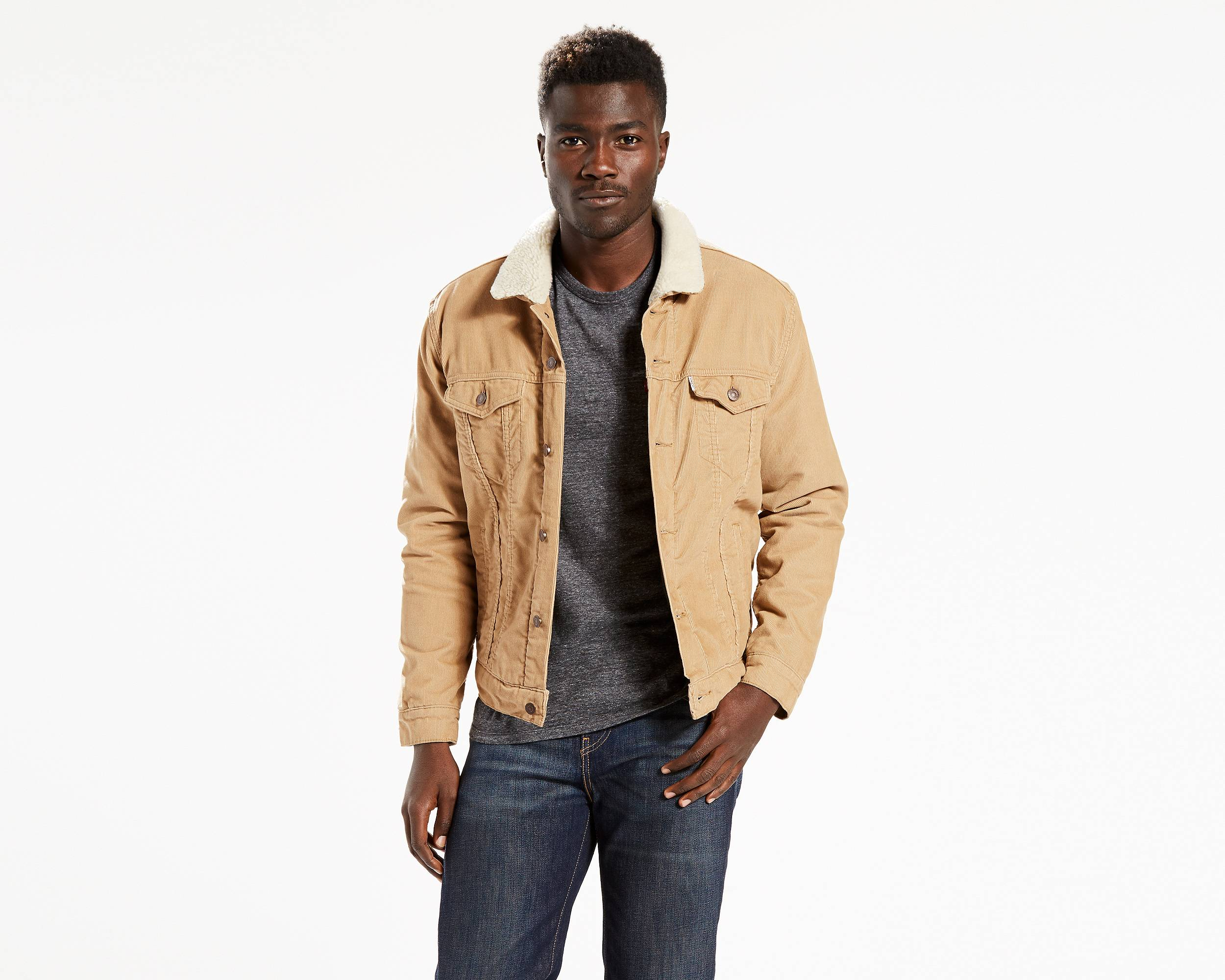 the sherpa trucker jacket chino corduroy levi 39 s great britain uk. Black Bedroom Furniture Sets. Home Design Ideas