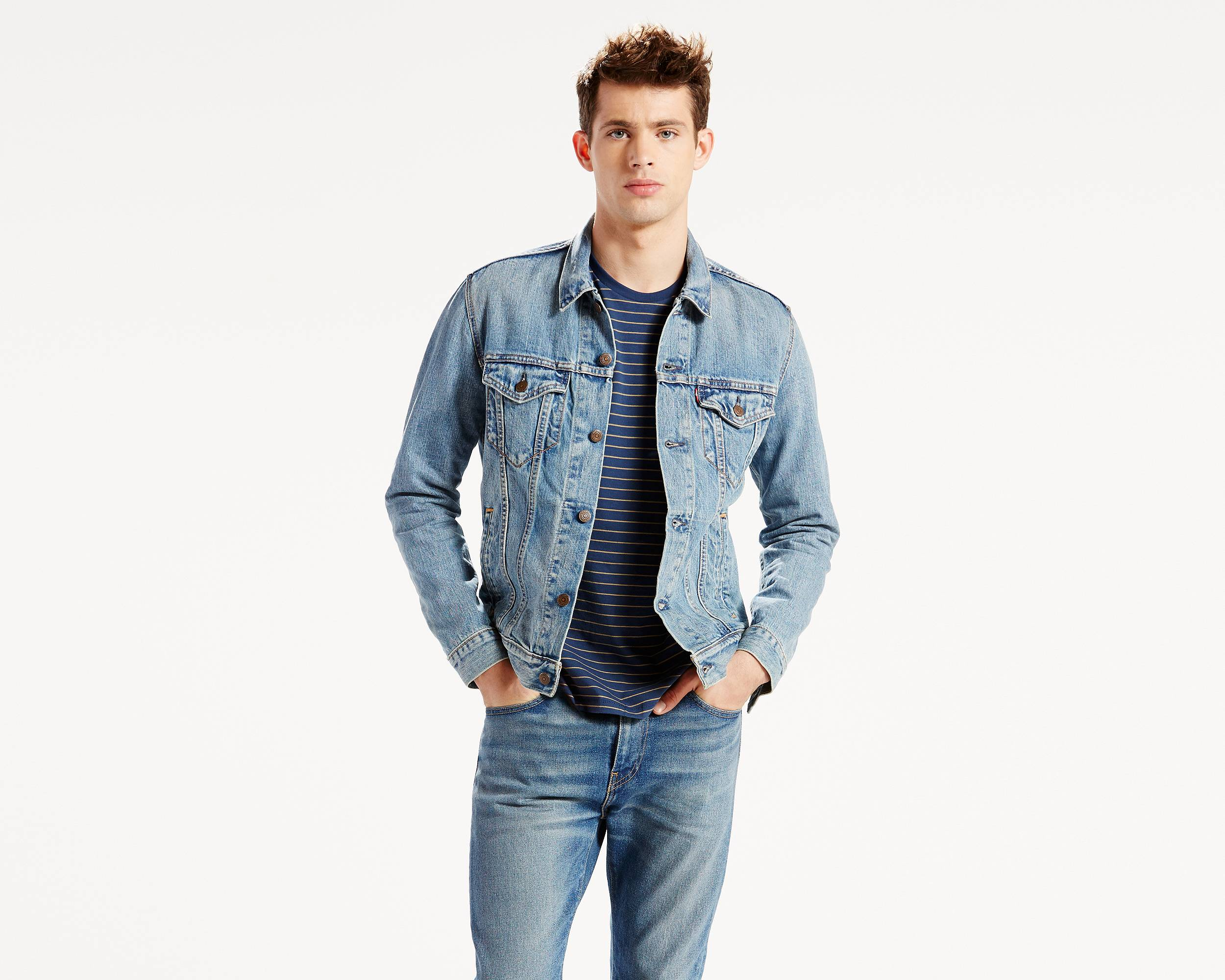 The Trucker Jacket | Icy |Levi's® Great Britain (UK)