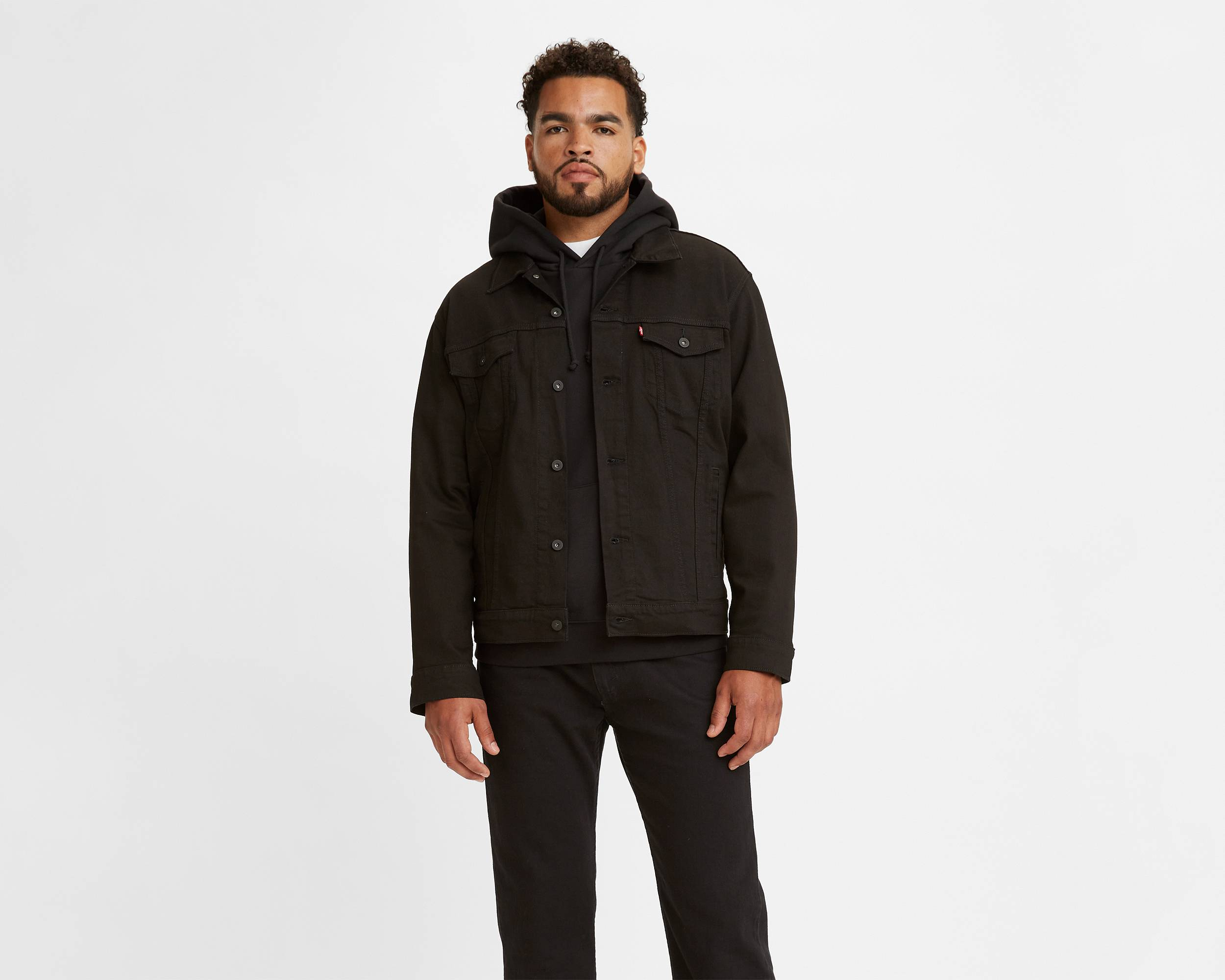 The Trucker Jacket | Lamar Black Stretch |Levi's® United States (US)