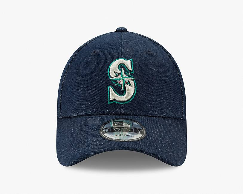 mariners baseball cap womens new dark wash united states us