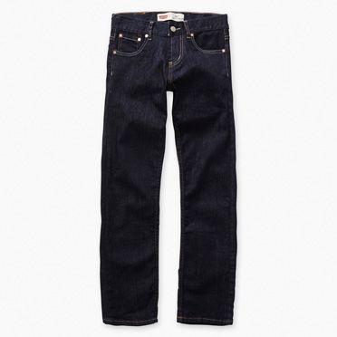 """Levis-Boys 504 Regular Straight Fit Jeans-Indigo"""