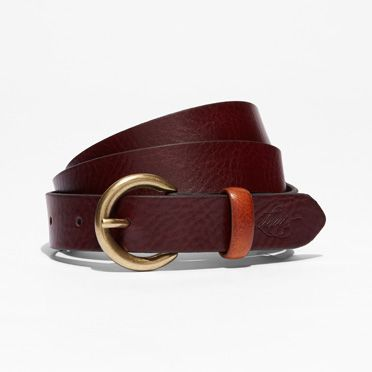 """Levis-Contrast Loop Belt-Bordeaux"""