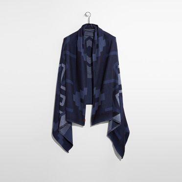 """Levis-Avens Blanket Wrap-Dark Blue"""