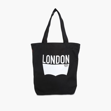 """Levis-London Tote-Black"""