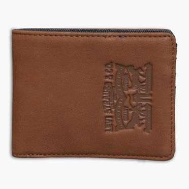 Leather & Denim Bifold with Coin Pocket at Levi's in Daytona Beach, FL | Tuggl
