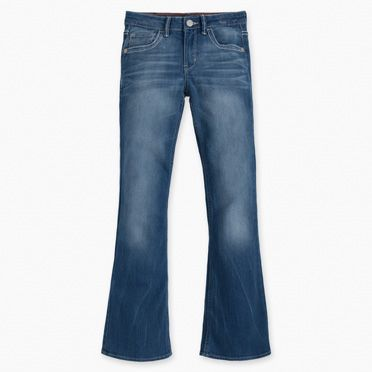 Girls 7-16 715 Taylor Thick Stitch Bootcut Jeans (Plus) at Levi's in Daytona Beach, FL | Tuggl