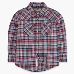 Little Boys 4-7x Barstow Plaid Shirt