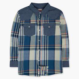 Little Boys (4-7x)  Woven Plaid Shirt