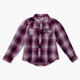 Girls (7-16) Woven Plaid Shirt