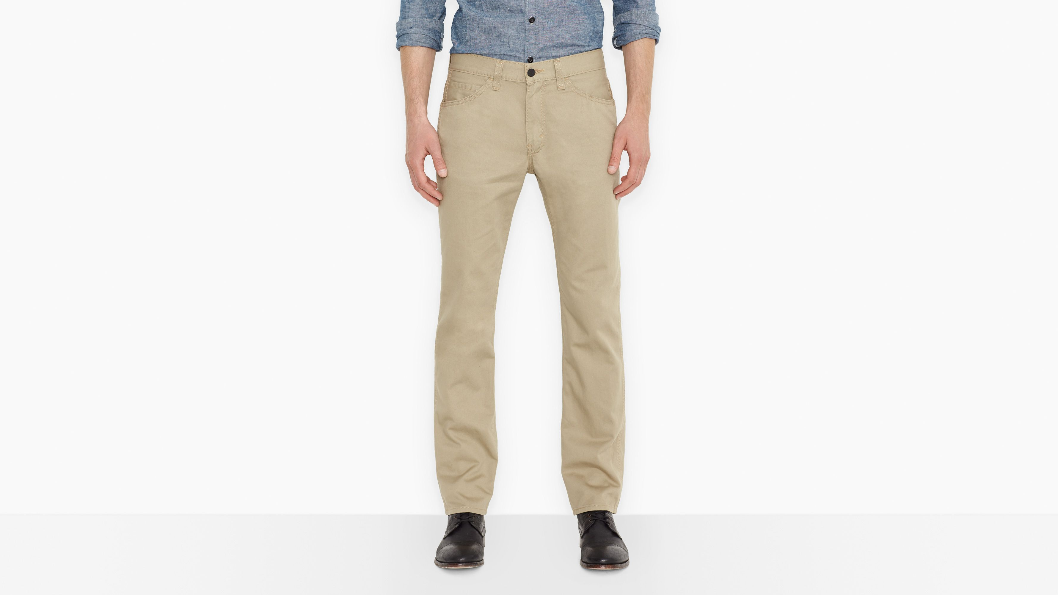 511™ Slim Fit Line 8 Pants - Sand