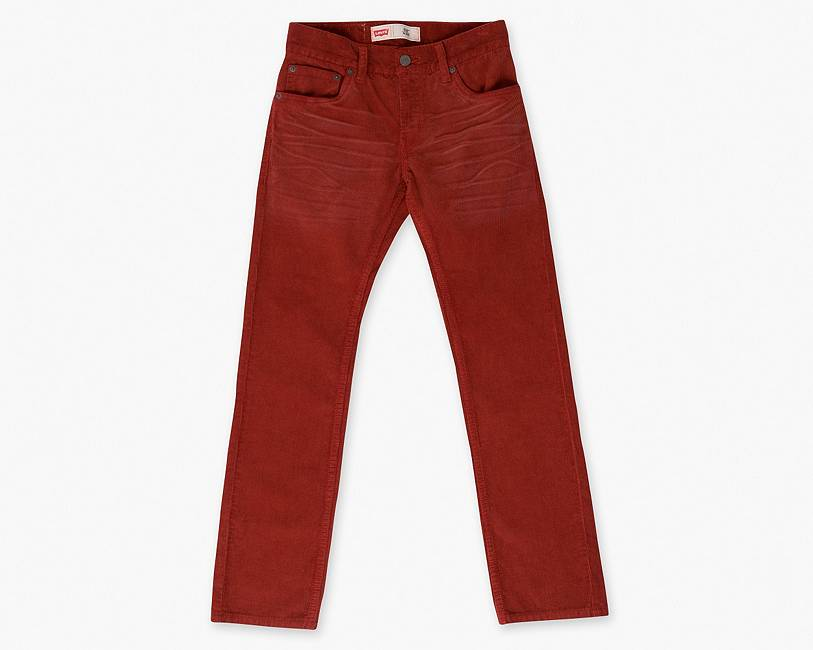 Boys (8-20) 511 Corduroy Pants | Burnt Orange |Levi's® United ...