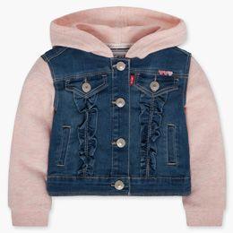 Infant Girls Hooded Trucker Jacket (12-24 M)