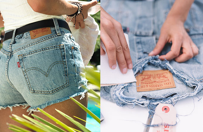 Levi's® Tailor Shop - Cut offs