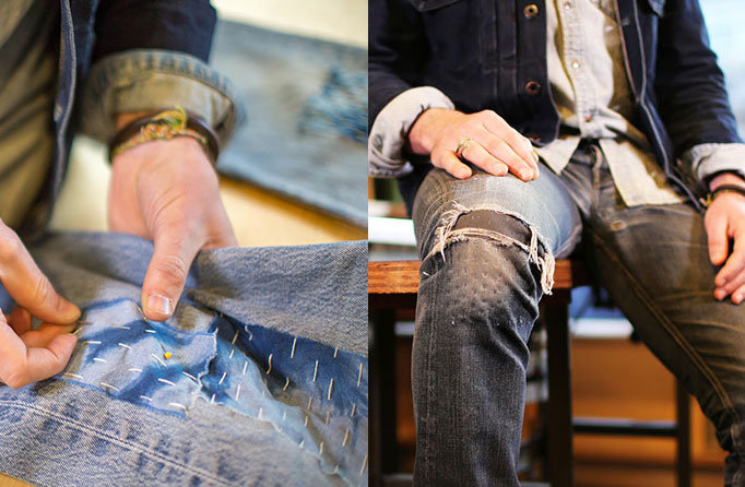 Levi's® Tailor Shop - RIP & REPAIR