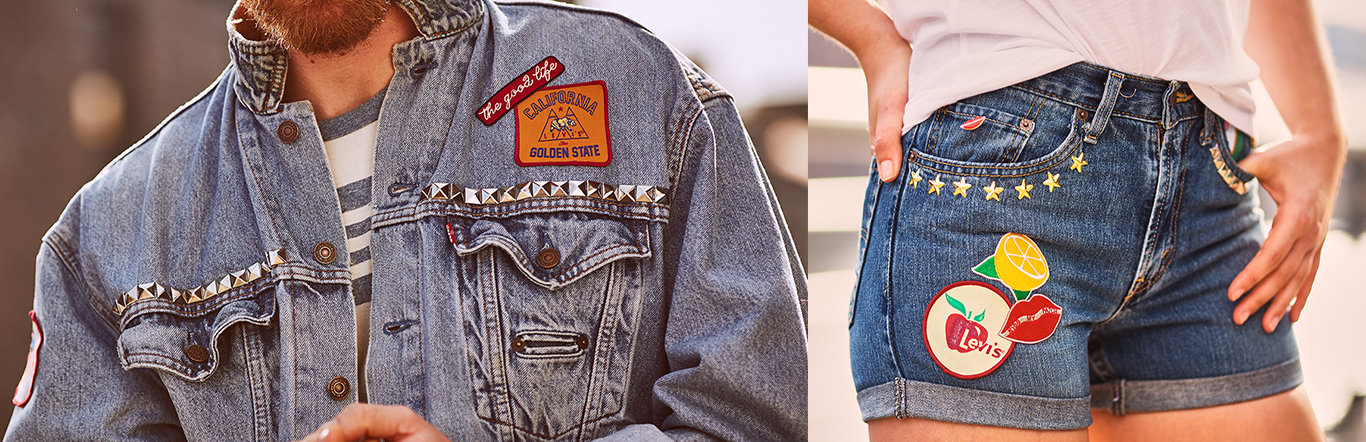 Levi's® Tailor Shop - Patches, Pins & Studs
