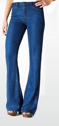 model wearing Flare & Wide leg