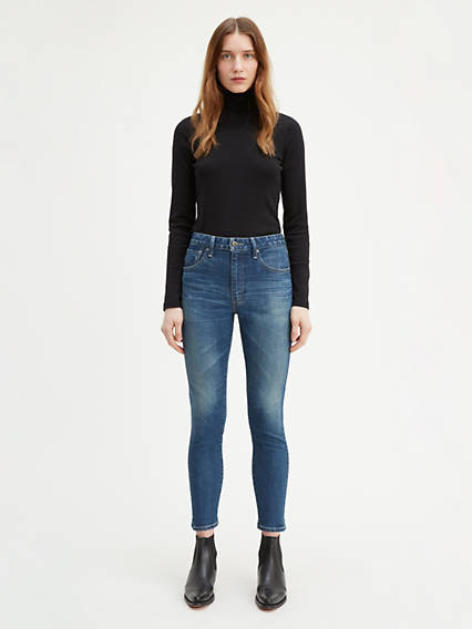 721 Hi Rise Skinny Ankle Jeans