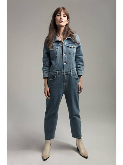 Levi's® x Lily Aldridge Denim Jumpsuit