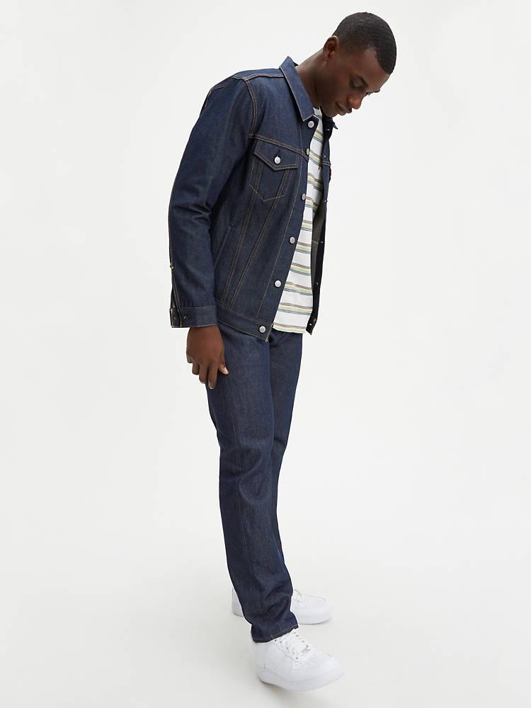 Levis 501 Original Shrink-to-fit Mens Jeans