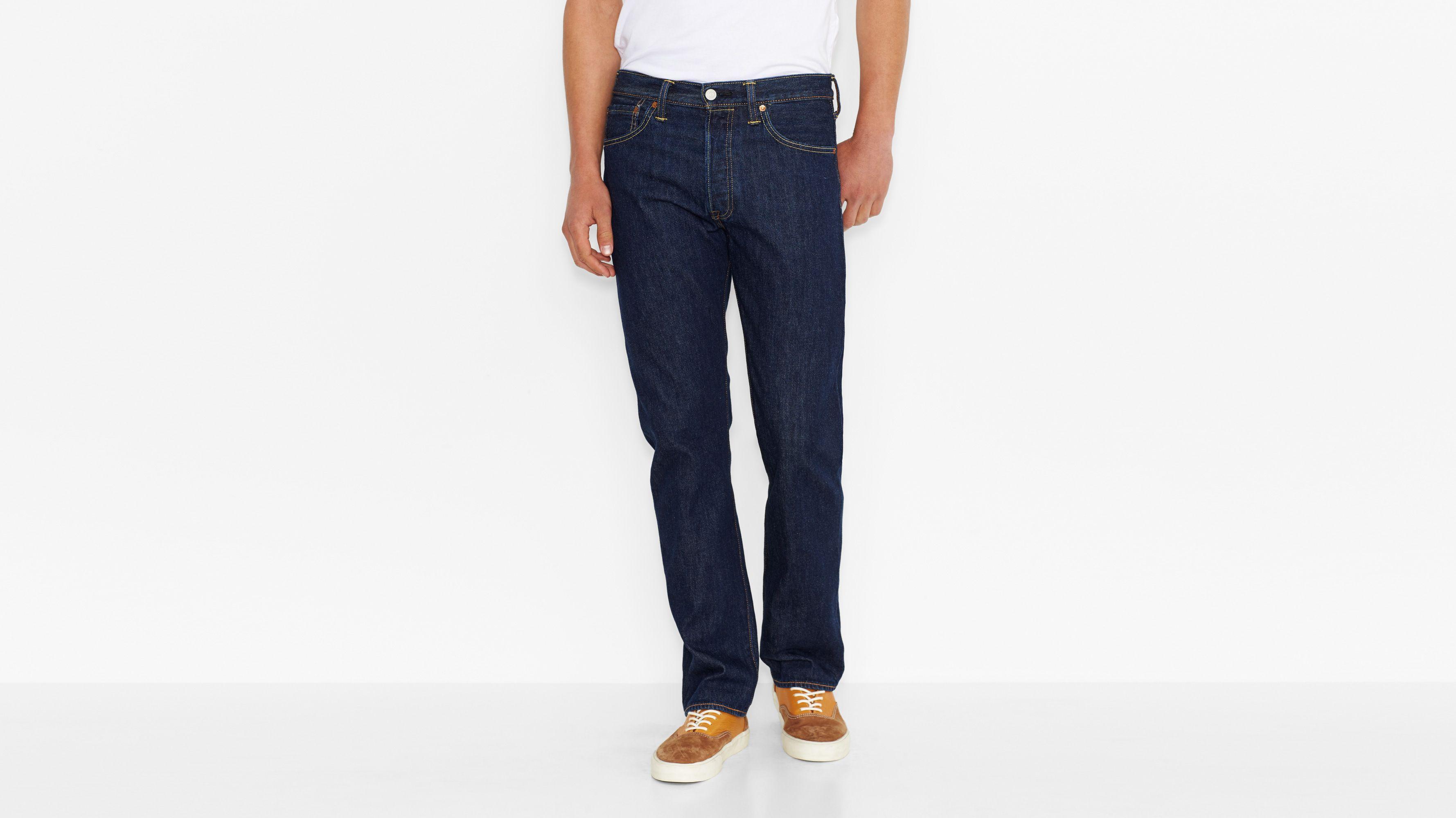 Levi/'s Jeans Hose Chino 501 Regular Original Blau 501-2916 Baumwolle