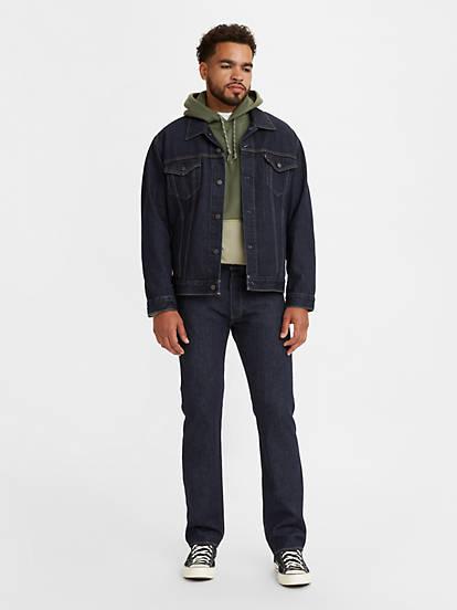 levi's 501 black jeans men's
