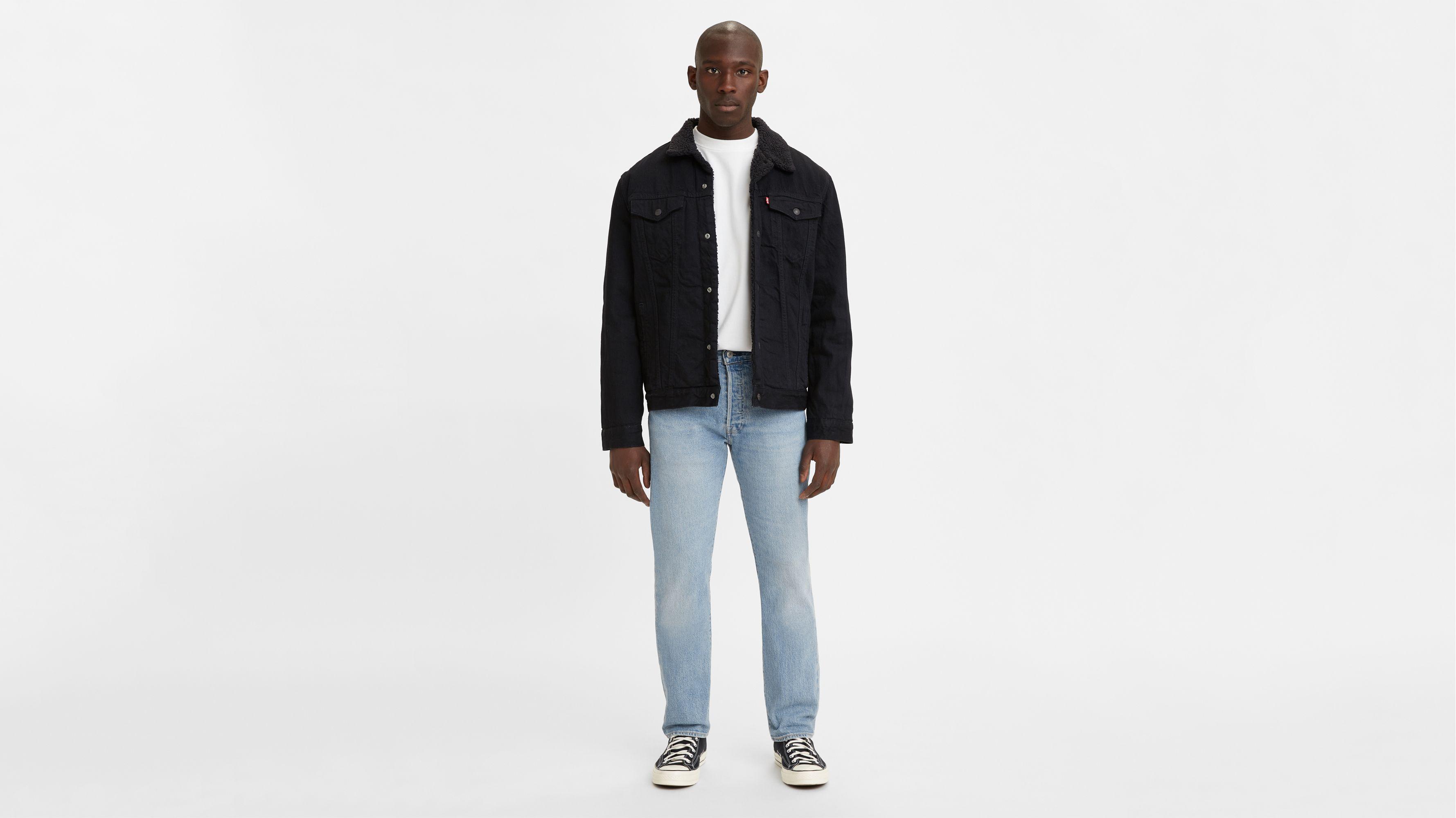 Levis 501 Original Fit Mens Jeans