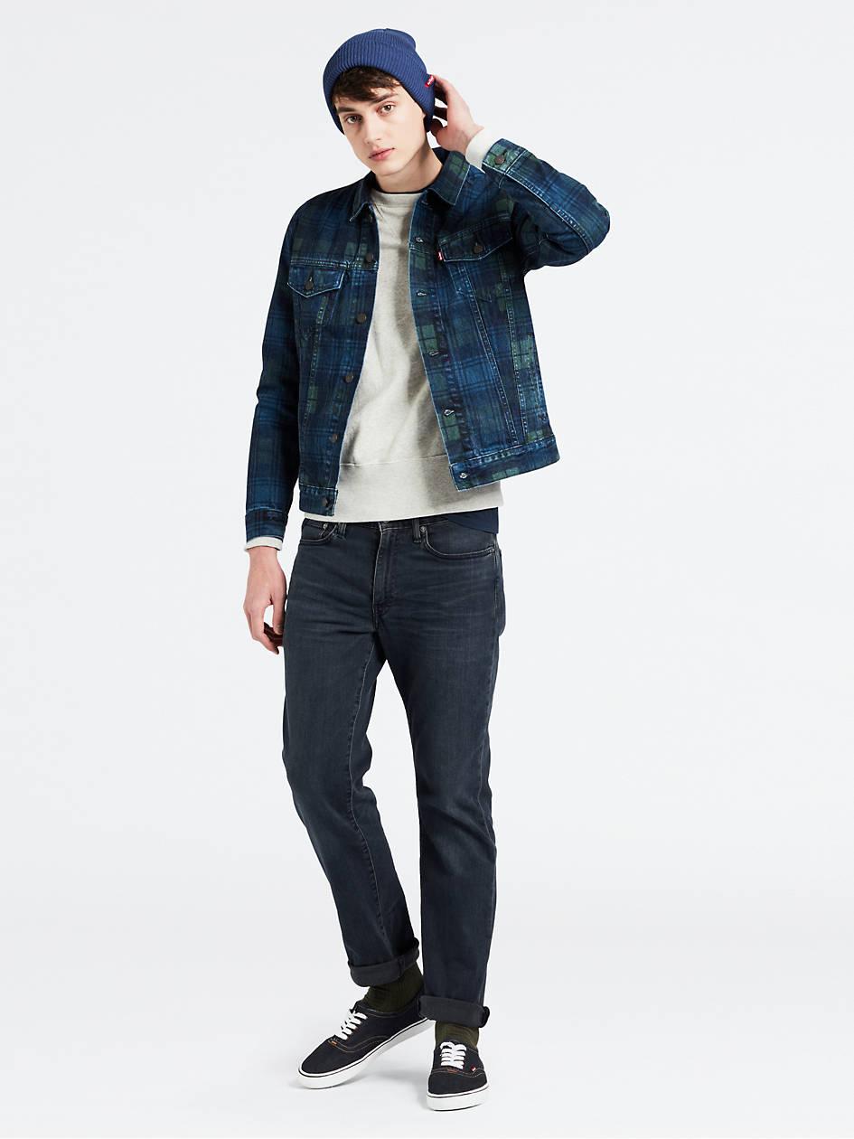 Levi's 514 Straight Fit Flex Men's Jeans (Headed South - Dark Wash)