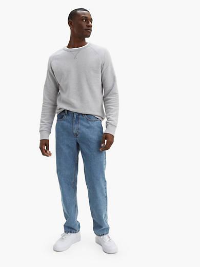 Size 29-33 Dark Stonewash Levi/'s Strauss 550 Relaxed Fit Men/'s Denim Shorts