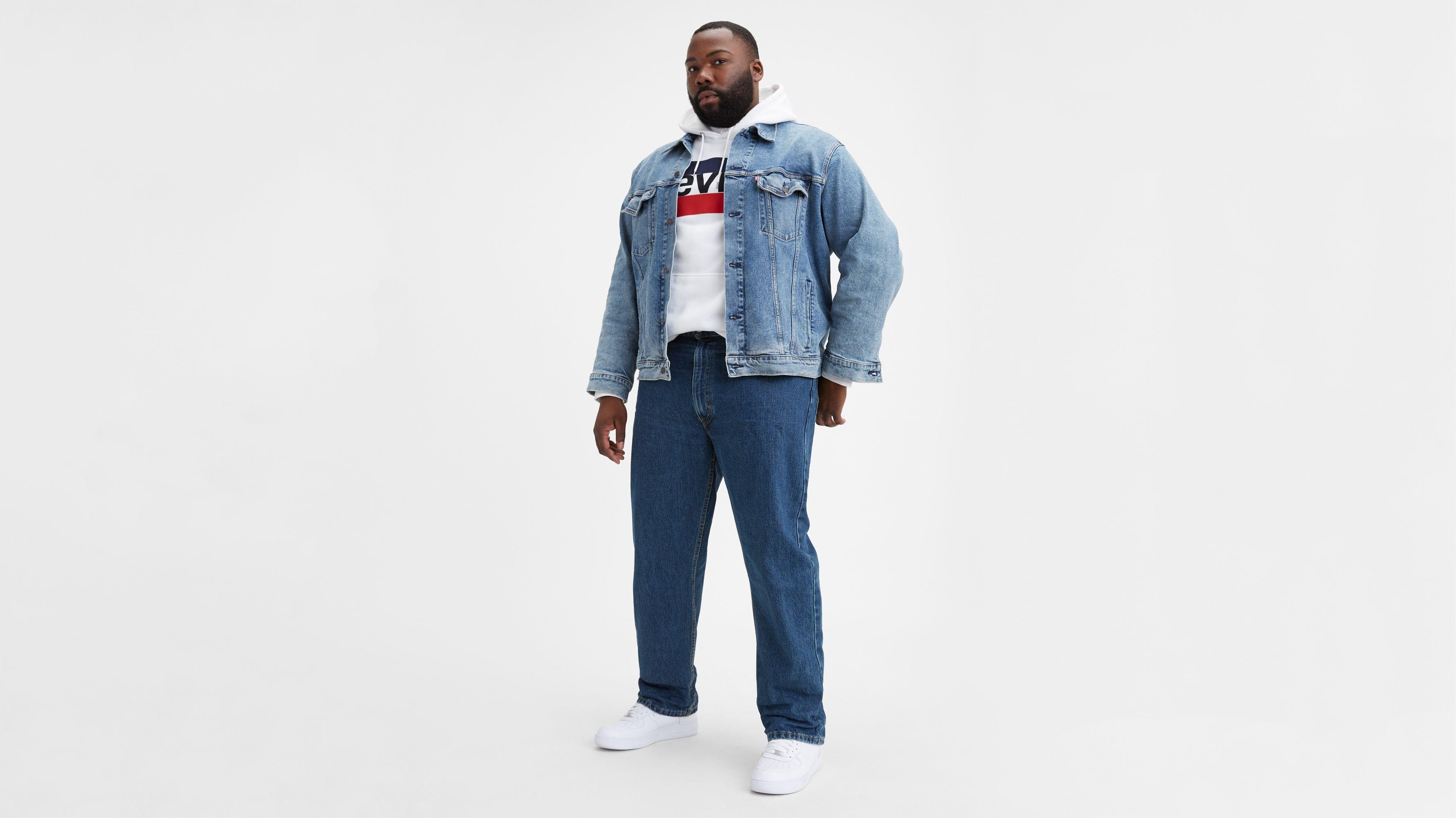 Levis 505 Regular Fit Mens Jeans (big & Tall)