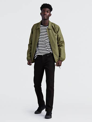 Mens Levi/'s 511 Slim fit Jeans black