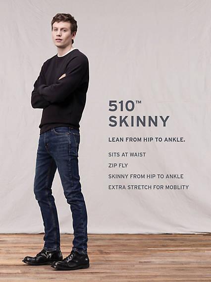 510™ Skinny Fit Levi's® Flex Men's Jeans