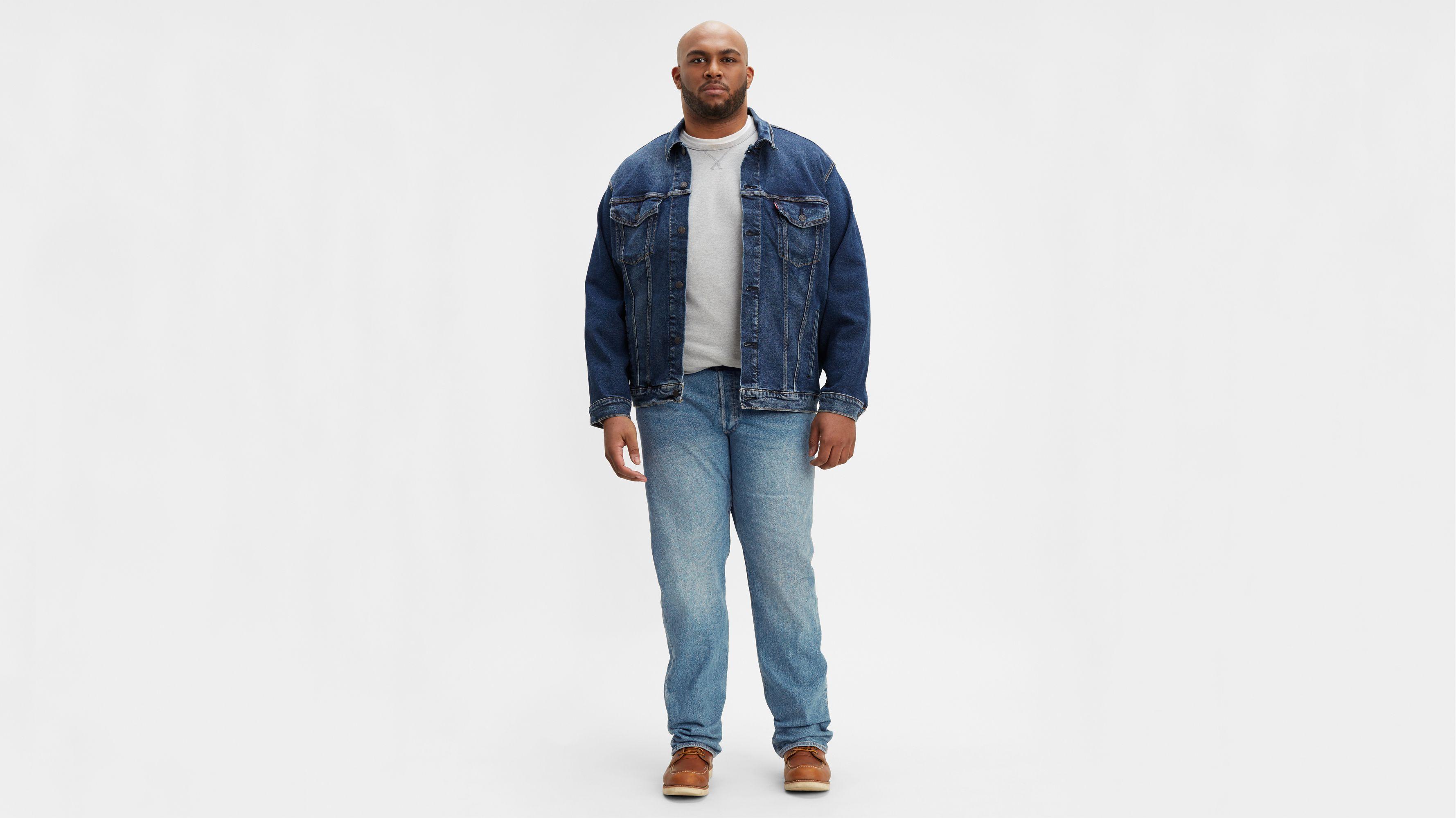 Levis 501 Original Fit Stretch Mens Jeans (big & Tall)