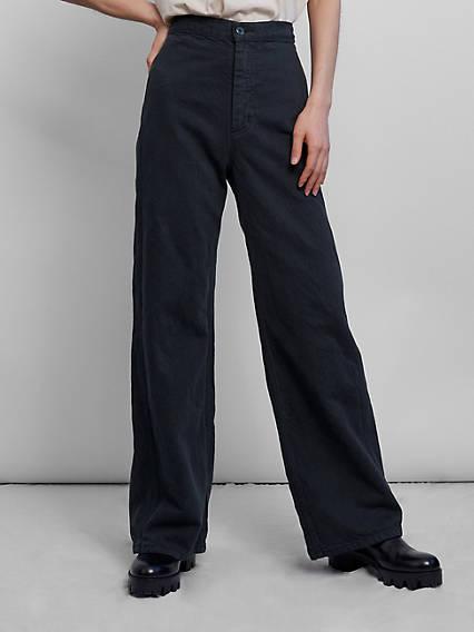 Levi's® x Wellthread™ Cottonzed Hemp Ribcage Wide Leg Jeans