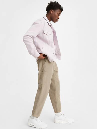Taper Pull on Corduroy Pants