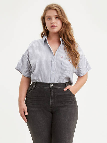 Alexandra Shirt (Plus Size) Long Sleeves