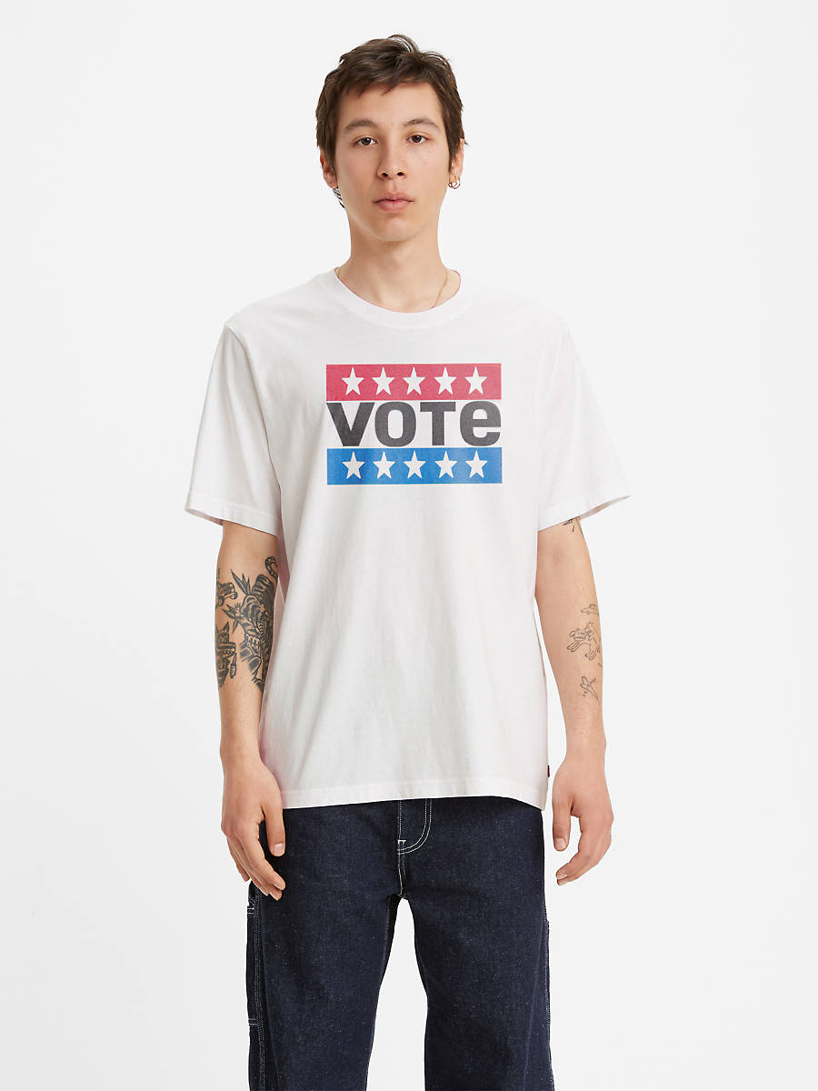 Levi's X Vote Relaxed Graphic Men's T-Shirt